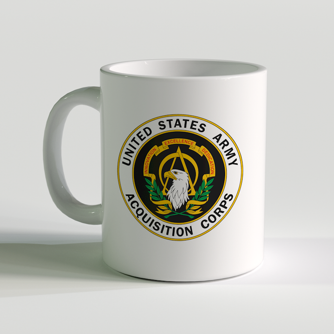 US army Acquisition Corps, US Army Coffee Mug