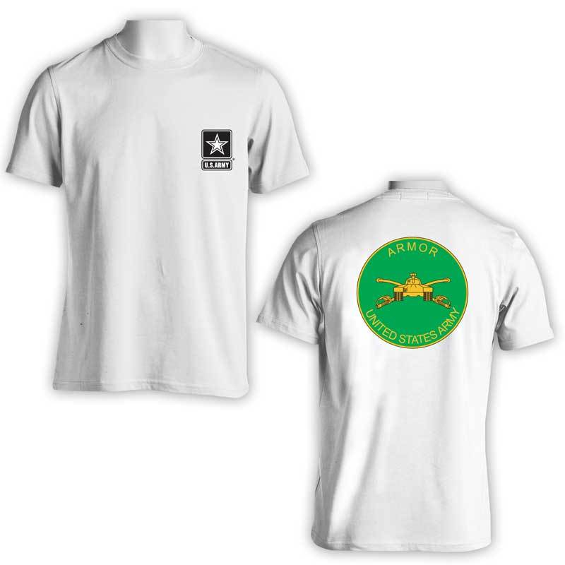 US Army T-Shirt, US Army Armor Branch T-Shirt