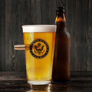Army Beer Glass