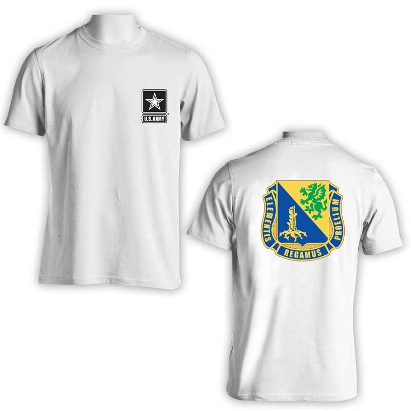 US Army Chemical Corps, US Army T-Shirt, US Army Apparel, Elementis Regamus Proelium