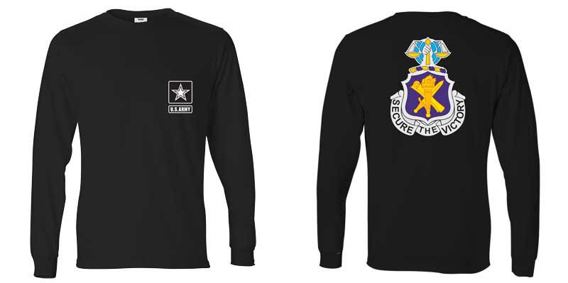US Army Civil Affairs Regiment Long Sleeve T-Shirt