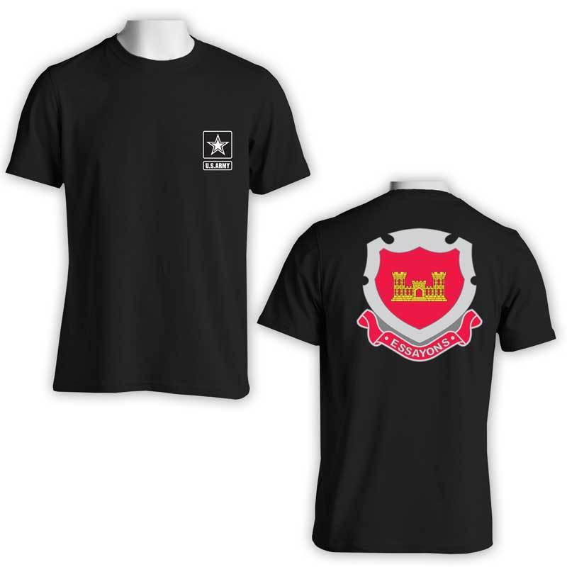 US Army Engineer Corps, US Army T-Shirt, Essayons