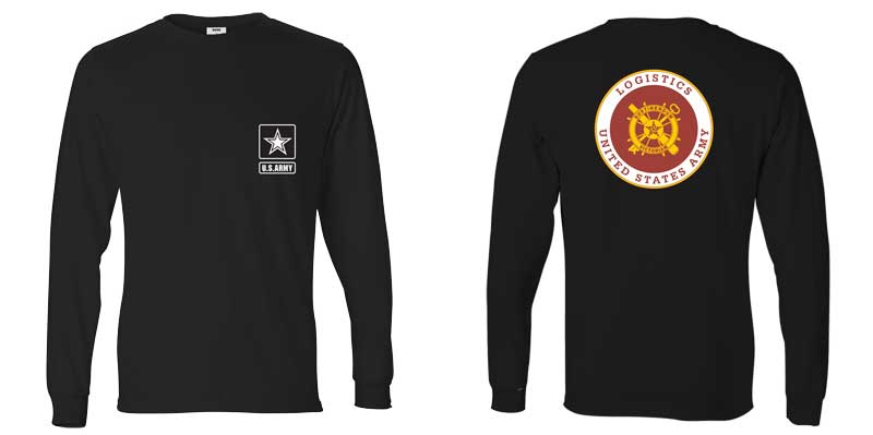 US Army Logistics Long Sleeve T-Shirt