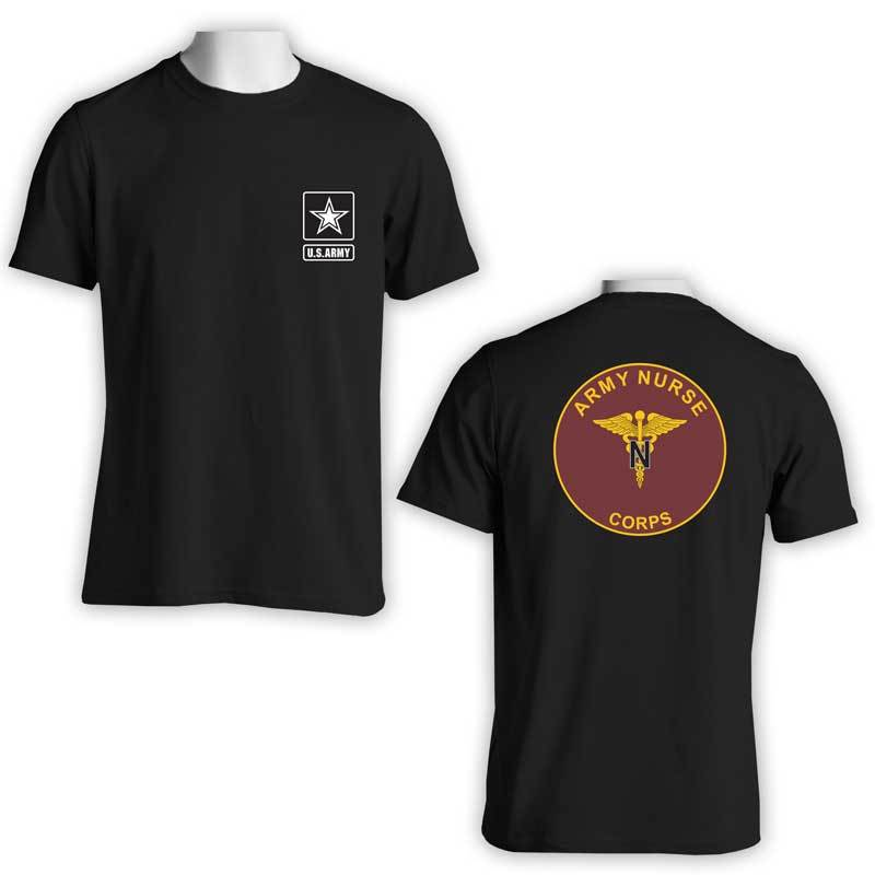 US Army Nurse Corps t-shirt, US Army T-Shirt, US Army Apparel