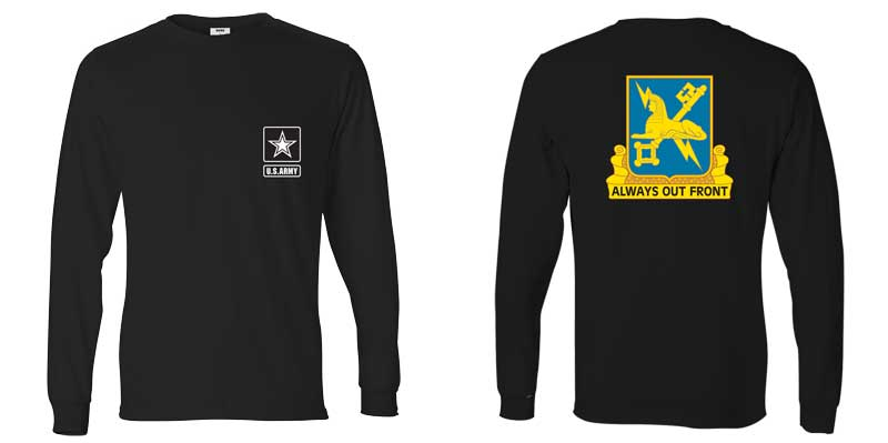 US Army Military Intelligence Corps Long Sleeve T-Shirt