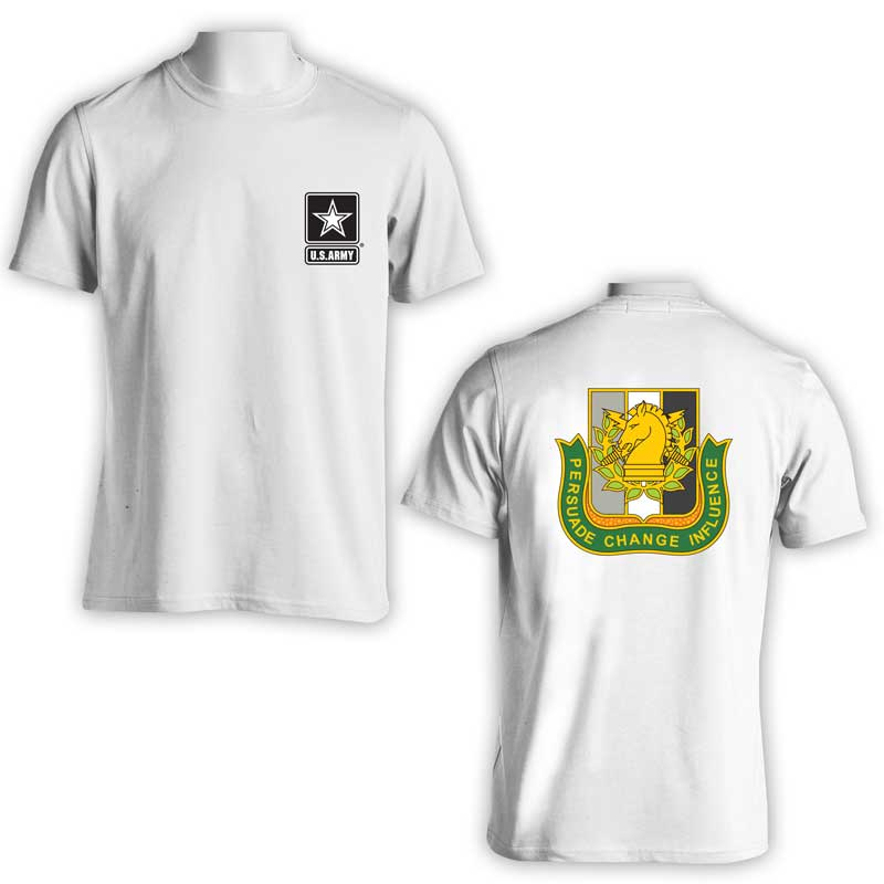 US Army Psychological Operations Bn, US Army T-Shirt, US Army Apparel