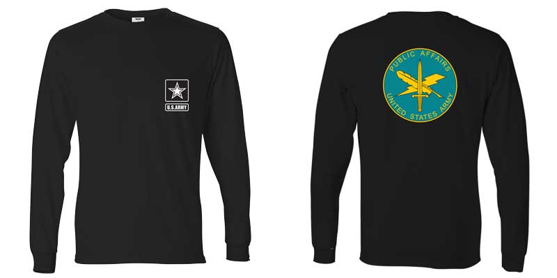 US Army Public Affairs Long Sleeve T-Shirt