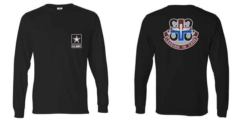 US Army Veterinarian Corps Long Sleeve T-Shirt