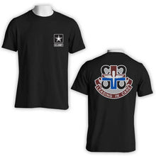 818th Medical Brigade t-shirt, US Army Apparel, US Army T-Shirt, US Army Leading in care