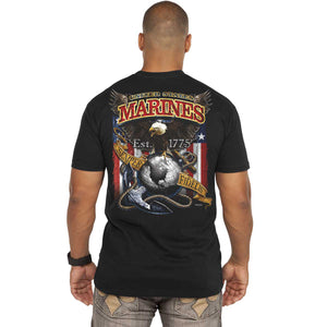 Marine 'Fighting Eagle' Battlespace Men's T-Shirt