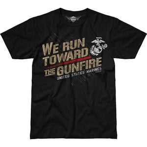 USMC 'Toward The Gunfire' Battlespace T-Shirt