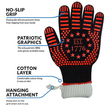 Military Veteran Products American BBQ Oven Gloves Infographics