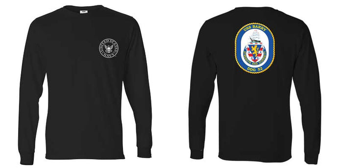 USS Barry Long Sleeve T-Shirt, DDG-52