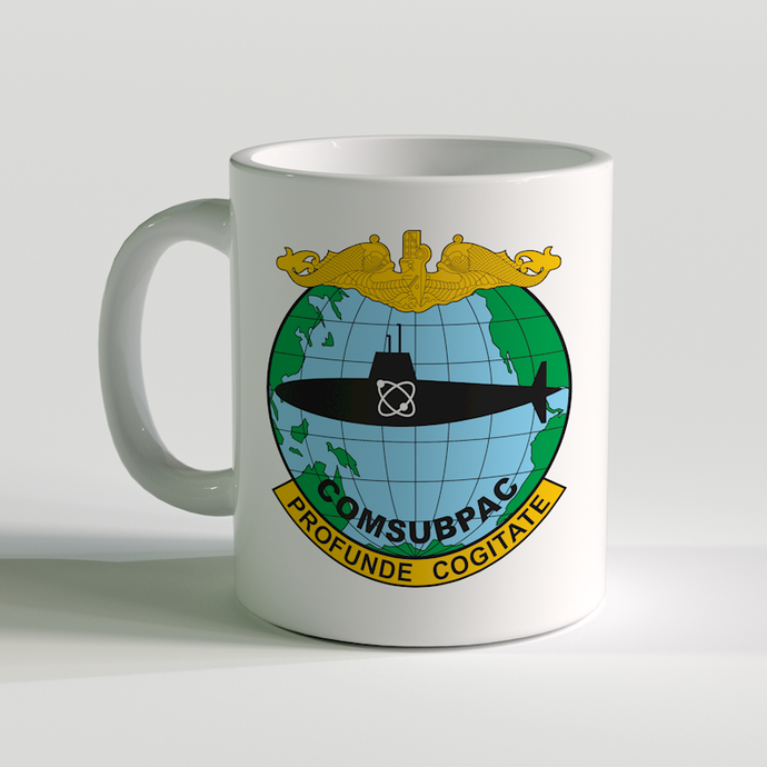 COMSUBPAC Coffee Mug, Profunde Cogitate