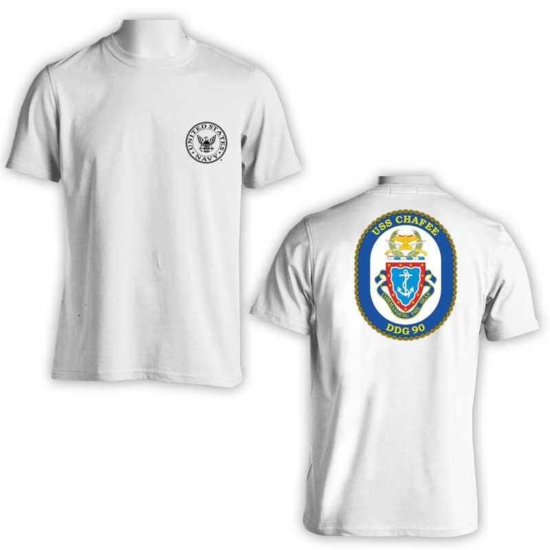 USS Chafee T-Shirt, DDG 90 T-Shirt, DDG 90, US Navy T-Shirt, US Navy Apparel