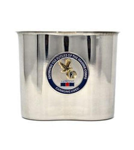 Custom 3D unit logo attached to canteen cup