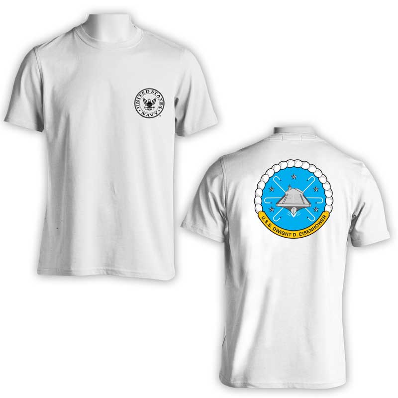 CVN 69, CVN 69 T-Shirt, USS Dwight D Eisenhower T-Shirt, US Navy Apparel, US Navy T-Shirt