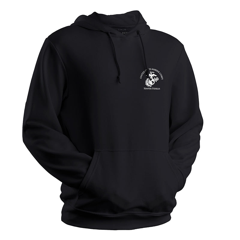 USMC Black Sweatshirt