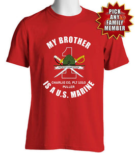Marine Family Day t-shirts