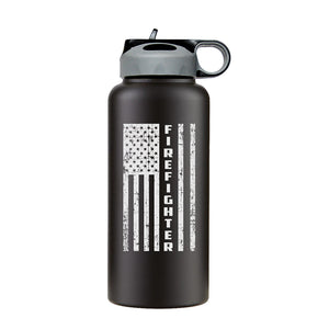 Firefighter water bottle, first responder water bottle, firefighter water bottle