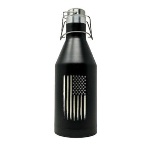 American Flag Growler - 64oz Growler