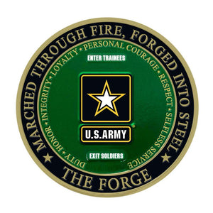 The Forge Army Challenge Coin