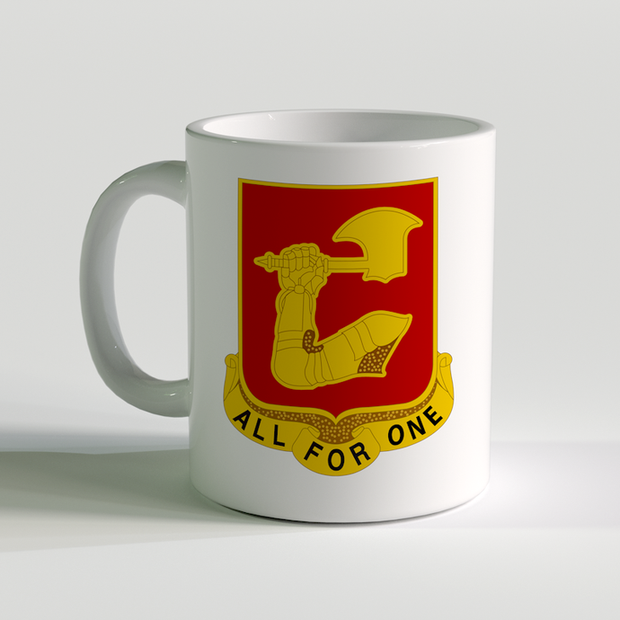 1st Battalion 40th Field Artillery Coffee Mug, Fort Sill 1-40 FA Battalion