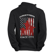 guardians of freedom since 1775 marines USMC black Hoodie,