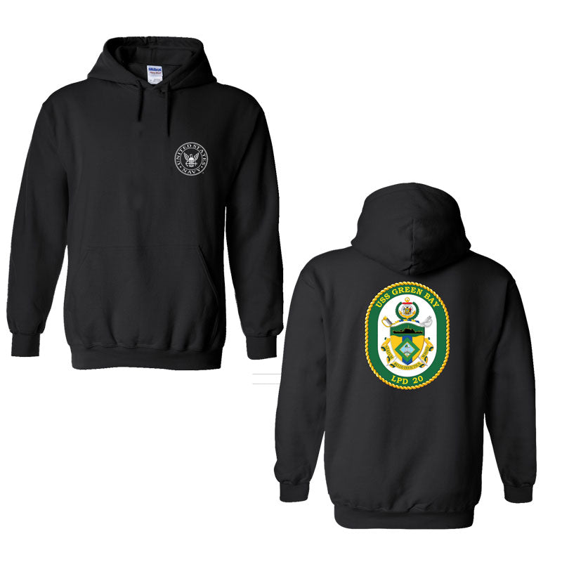 USS Green Bay Sweatshirt, USS Green Bay LPD-20, USN LPD-20, LPD-20