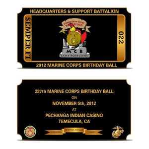 Marine Corps Ball Gift Ideas | USMC Birthday Ball Gifts