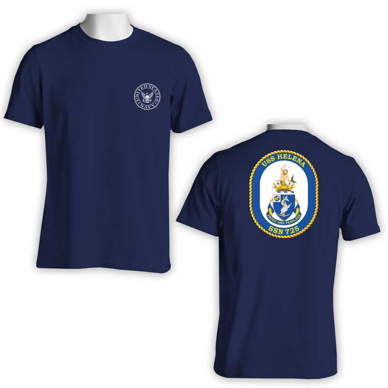 USS Helena T-Shirt, Submarine, SSN 725, SSN 725 T-Shirt, US Navy T-Shirt, US Navy Apparel