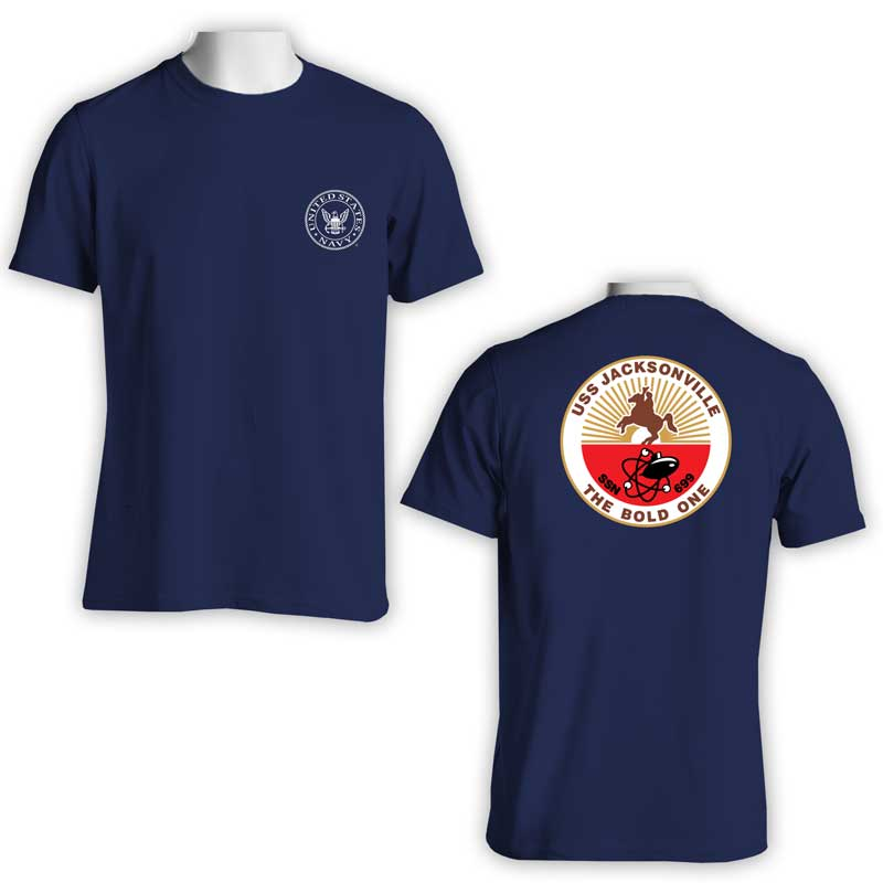USS Jacksonville T-Shirt, SSN 699, SSN 699 T-Shirt, Submarine, US Navy T-Shirt, US Navy Apparel