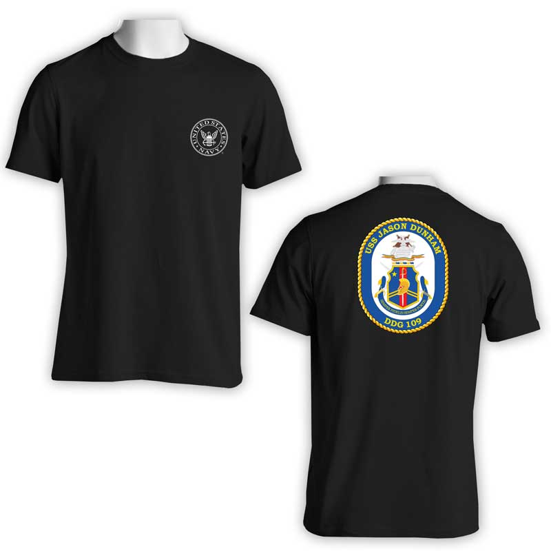 USS Jason Dunham T-Shirt, DDG 109, DDG 109 T-Shirt, US Navy T-Shirt, US Navy Apparel