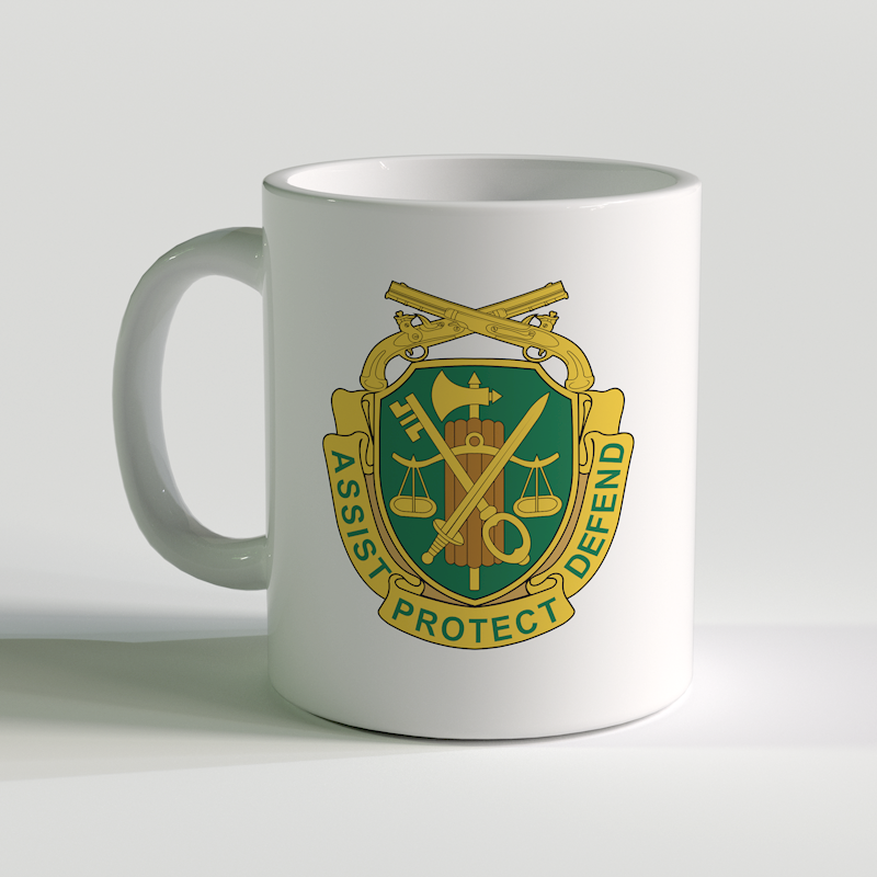 US Army Military Police Corps Coffee Mug, US Army Military Police