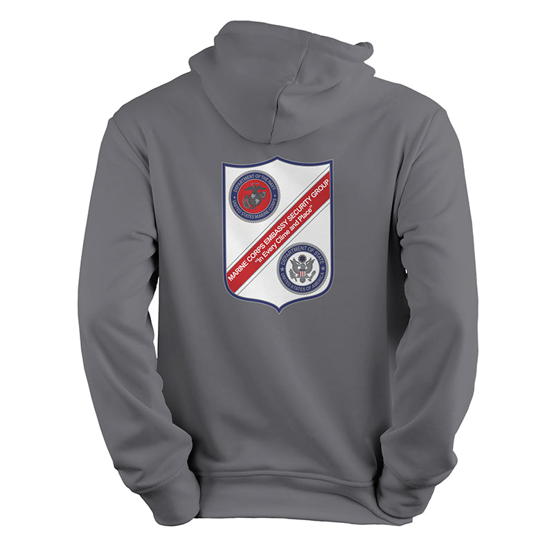 Embassy Security Group USMC Grey Sweatshirt