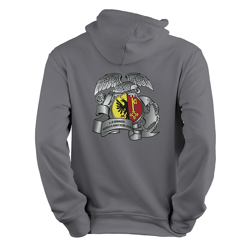 MSG Geneva Detachment Grey Sweatshirt