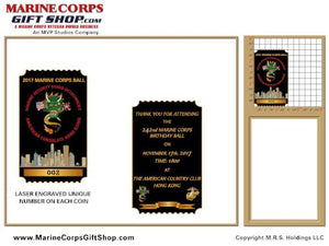 Vertical Challenge Coin Design