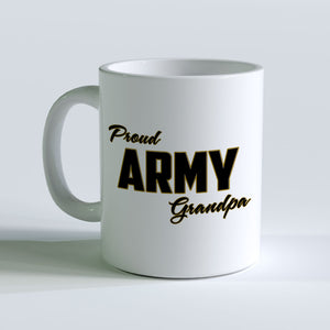 Proud Army Grandpa Mug