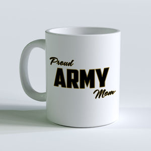 Proud Army Mom Mug