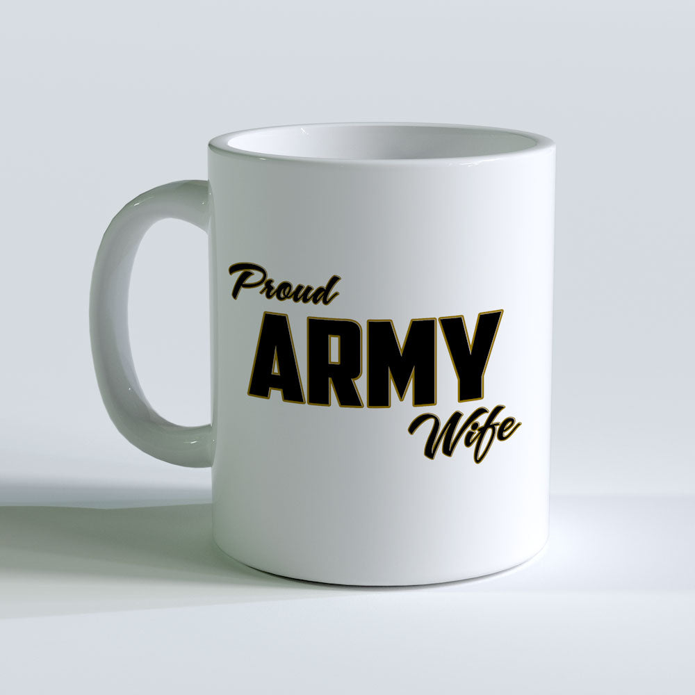 Proud Army Wife Mug
