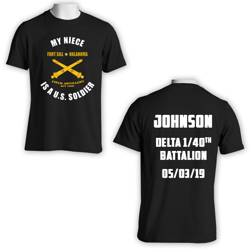 Custom Army Family Day T-shirts