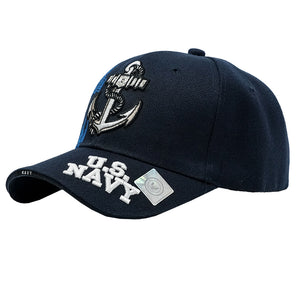 United States Navy Anchor Embroidered USN Baseball Cap
