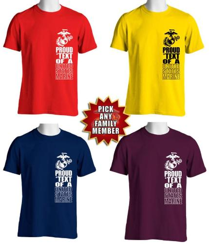 Proud Family USMC TShirt