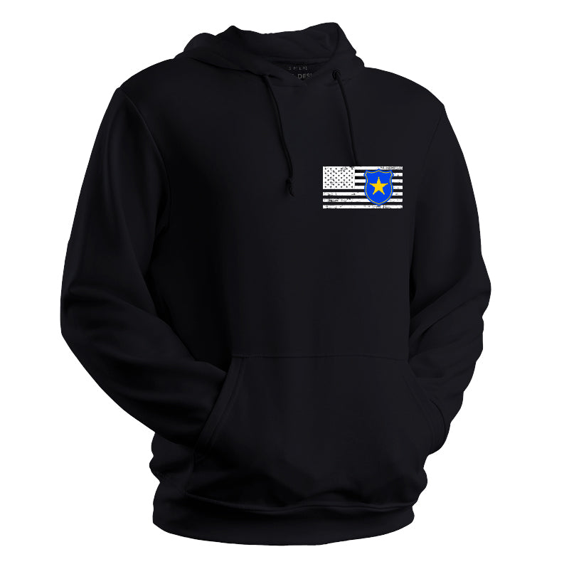 Police First Responder Hoodie, Thin blue line weatshirt, Police hoodie, police sweatshirt, back the blue, back the badge