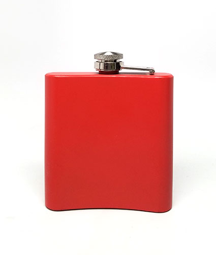 Back of Red Flask