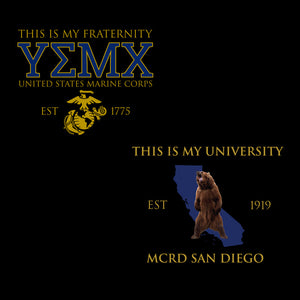 MCRD San Diego University Hoodies