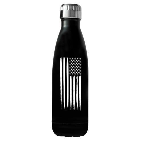 17oz American Flag Water Bottle