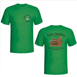 Marines St. Patrick's Day Shirt, Tun Tavern, Born in a bar, USMC tun tavern t-shirt