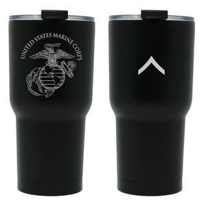 PFC Tumbler, USMC Private First Class, USMC Tumbler