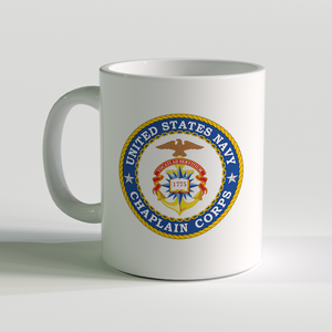USN Chaplain Coffee Mug, US Navy Chaplain Coffee Mug, US Navy Chaplain Corps